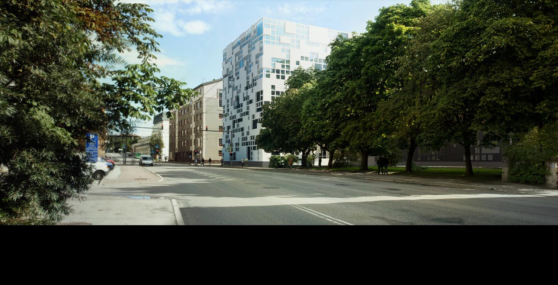 Down-town building concept